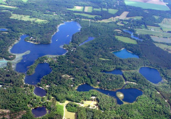 Chain O Lakes, Waupaca WI